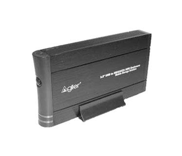 CAJA USB 3.5 AGILER PARA DISCO DURO SATA, USB 3.0