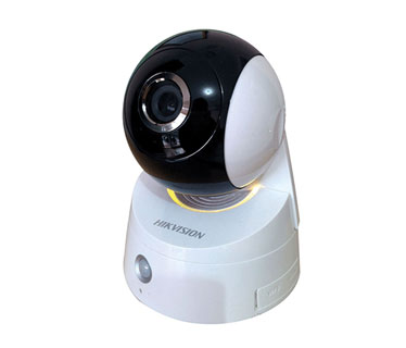 CAMARA DE VIGILANCIA, HIKVISION, IP, 1MP, PT, 2.8MM, LENS 1/4 CMOS, WPS CONNECTION, PIRDETECTION