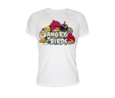 Impresion Tshirt algodon transfer blanco