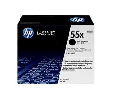 TONER HP CE255X NEGRO PARA LASERJET PRINTER SERIES P3011 P3015, M521DN)