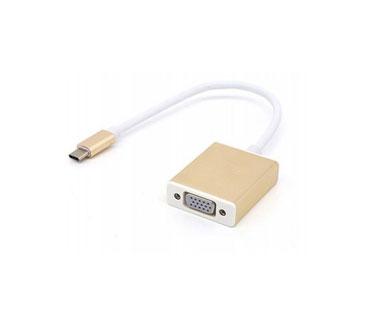 ADAPTADOR USB 3.1 TYPE C A VGA, (AGI-1237)
