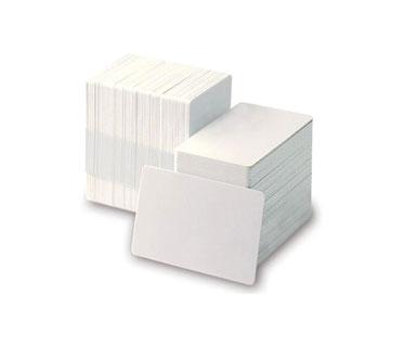 TARJETA PVC ZEBRA 30 MIL PARA IMPRESORA ZEBRACARD 30 MIL BLANK WHITE PVC CARDS, 500 TARJETAS POR CAJA TRM12BDJ14