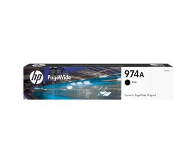 CARTUCHO HP 974 (L0R87AL) - PRINT CARTRIDGE - 1 X PIGMENTED CYAN - 3,000 PAGES, HP PAGEWIDE PRO PRINTER 452DW (D3Q16C) - 577DW (D3Q21C) - 477DW (D3Q20C)