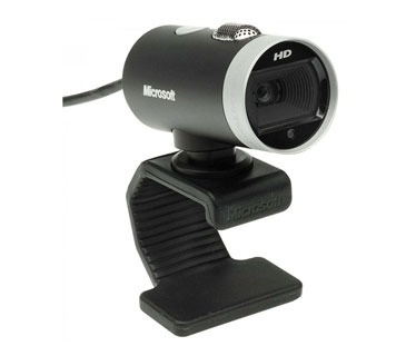 CAMARA WEB MICROSOFT LIFECAM CINEMA USB 2.0 1280 X 720 720P HD VIDEO CHAT, WINDOWS, SKYPE CERTIFIED.