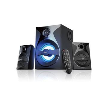 BOCINAS KLIPX 2.1 KWS-640, 56W, BLUETOOTH, RANURAS SD, USB, 3.5MM