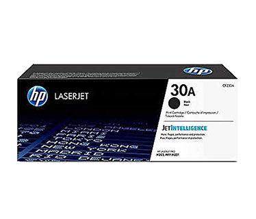 TONER HP 30X - CF230X - TONER CARTRIDGE HIGH YIELD - 1 X BLACK - 3500 PAGES - FOR LASERJET M203DN, M203DW, M227FDW, M227SDN