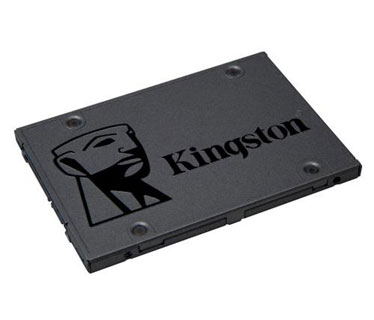 DISCO DE ESTADO SOLIDO KINGSTON 120GB, SATA 3, 2.5, (SA400S37/120)