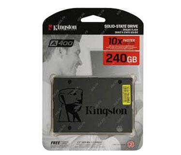 DISCO DE ESTADO SOLIDO KINGSTON 240GB, SATA3, SSD. (SA400S37/240G)