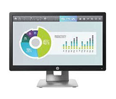 MONITOR HP ELITEDISPLAY E202 20 PULGS - 1600 X 900 - LED - IPS - 250 CD/M² - 1000:1 - 7 MS - HDMI, VGA, DISPLAYPORT - BLACK - SMART BUY