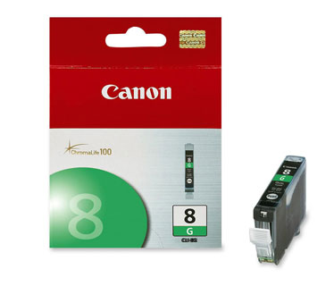 CARTUCHO CANON CLI-8 VERDE COMPATIBLE CON PIXMA IP4200, IP5200, IP800