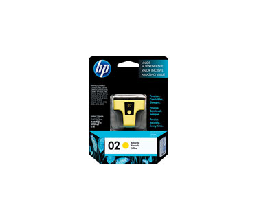 CARTUCHO HP 02 AMARILLO P/ PSMART 8250 6ML