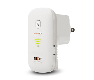 REPETIDOR NEXXT KRONOS 301 WIRELESS AP, RANGE EXTENDER, DIRECTO A LA PARED, COMPATIBLE CON ESTANDAR 802.11N, 2.4GHZ