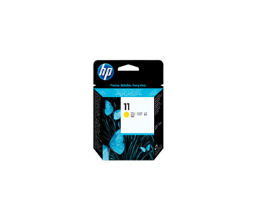 CARTUCHO HP 11 CABEZAL AMARILLO C4813A COMPATIBLE CON PLOTTER 111/BUSINESS 2800