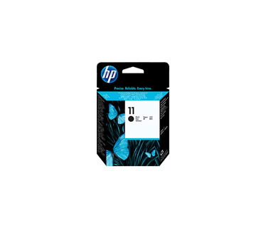 CARTUCHO HP 11 CABEZAL NEGRO C4810A COMPATIBLE CON BUSINESS INKJET 2800 (C8174A) PLOTTER 111