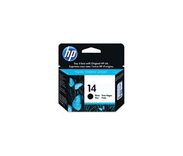 CARTUCHO HP 14 NEGRO P/OFFICEJET D SERIES 1600 26ML (C5011D).