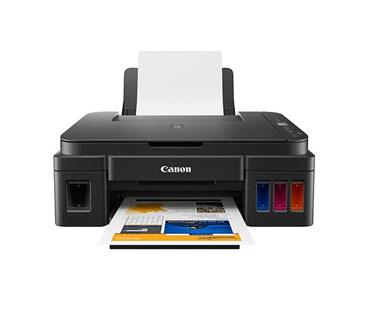IMPRESORA CANON G2110 MULTIFUNCIONAL PIXMA, (IMPRESORA, COPIADORA, ESCANER) INYECCION DE TINTA CONTINUA, COLOR, IMPRESION FOTOGRAFICA, 4800X1200 DPI, ESCANER 600X1200, INTERFACE USB 2.0, 8.8 IPM EN NEGRO Y 5.0 IPM EN COLOR. (2313C004AA).