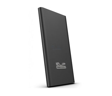 CARGADOR MOVIL KLIPX (POWER BANK), BACKUP BATTERY, 3700MAH, SLIM, USB OUTPUT 5V/2.1A, NEGRO (KBH-140BK)
