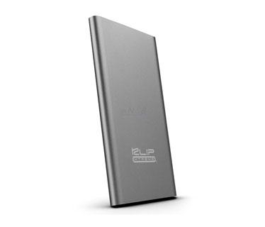 CARGADOR MOVIL KLIPX (POWER BANK), BACKUP BATTERY, 5000MAH, SLIM, USB OUTPUT 5V/2.1A, PLATEADO (KBH-155SV)
