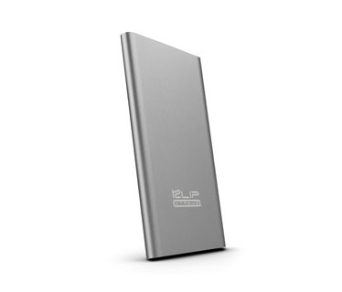 CARGADOR MOVIL KLIPX (POWER BANK), BACKUP BATTERY, 8000MAH, SLIM, USB OUTPUT 5V/3.1A, PLATEADO (KBH-175SV)