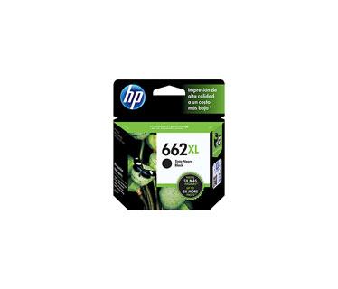 CARTUCHO HP 662XL - PRINT CARTRIDGE - 1 X PIGMENTED BLACK - 360 PAGES - FOR DESKJET INK ADVANTAGE 2515, DJ 3515, 3545
