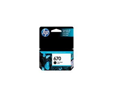 CARTUCHO HP 670XL - PRINT CARTRIDGE - 1 X DYE-BASED CYAN - 750 PAGES - FOR DESKJET INK ADVANTAGE 3525, DJ4615, DJ3525, DJ5525, DJ4625