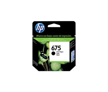 CARTUCHO HP 675 - PRINT CARTRIDGE - 1 X BLACK - FOR OFFICEJET 4000, 4400, 4575