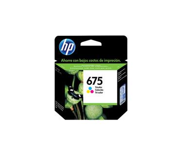CARTUCHO HP 675 - PRINT CARTRIDGE - 1 X COLOR (CYAN, MAGENTA, YELLOW) - FOR OFFICEJET 4000, 4400, 4575
