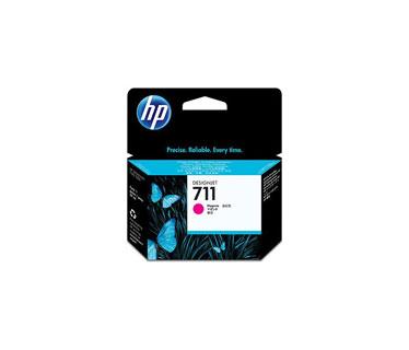 CARTUCHO HP 711 - CZ131A - PRINT CARTRIDGE - 1 X MAGENTA - FOR DESIGNJET T120 EPRINTER, T520 EPRINTER