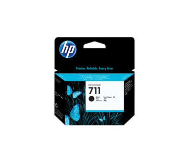 CARTUCHO HP 711 - CZ133A - PRINT CARTRIDGE - 1 X BLACK - FOR DESIGNJET T120 EPRINTER, T520 EPRINTER