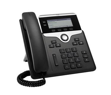 TELEFONO CISCO IP PHONE 7821 – VOIP PHONE- SIP, SRTP – 2 LINES