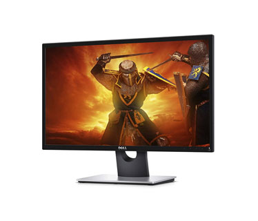 MONITOR DELL 24 PULGS. (23.8), PANEL TYPE TN, LCD/LED, 1080P, 2MS, 16:9, 250CD/M2, DCR 8M:1. 1 VGA + 1 HDMI.