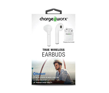 AUDIFONO CHARGE WORKS EARPODS, BLANCO (DENTRO DEL OIDO)