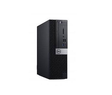 COMPUTADORA DELL OPTIPLEX 7060 SMALL FORM FACTOR XCTO, I7-8700 4.6 GHZ, 8GB (2X4G) 2666MHZ, 1TB, DVD+/-RW, W10 PRO 64-BIT MULT,MS, 1X HDMI/2X DISPLAY-PORT, PUERTO VGA, TECLADO INGLES