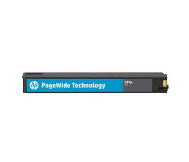 CARTUCHO HP 974X (L0R99AL) - PRINT CARTRIDGE - 1 X PIGMENTED CYAN - 7,000 PAGES, HP PAGEWIDE PRO PRINTER 452DW (D3Q16C) - 577DW (D3Q21C) - 477DW (D3Q20C)