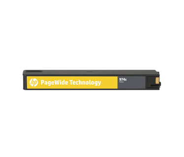CARTUCHO HP 974X (L0S05AL) - PRINT CARTRIDGE - 1 X PIGMENTED YELLOW - 7,000 PAGES, HP PAGEWIDE PRO PRINTER 452DW (D3Q16C) - 577DW (D3Q21C) - 477DW (D3Q20C)