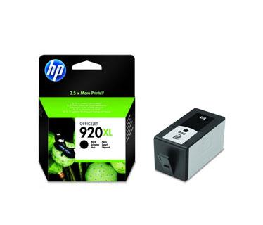 CARTUCHO HP 920XL NEGRO COMPATIBLE CON OFFICEJET 6000, 6500A Y 7500A 49ML