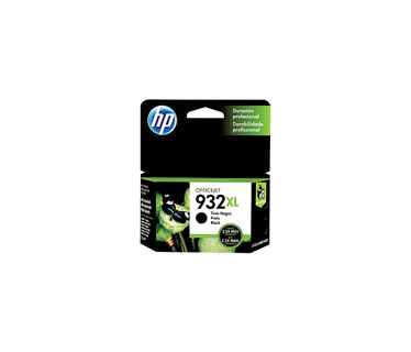 CARTUCHO HP 932XL - CN053AL - PRINT CARTRIDGE - 1 X PIGMENTED BLACK - 1000 PAGES - FOR OFFICEJET 6100 EPRINTER, 6600 H711A, 6700 PREMIUM H711N, 7110 Y 7610 WIDE FORMAT EPRINTER