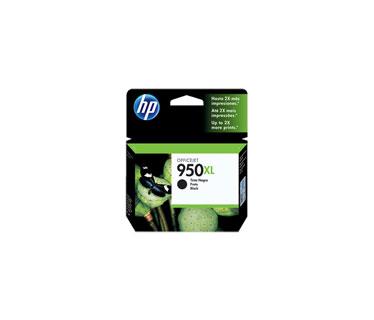 CARTUCHO HP 950XL - HIGH YIELD - BLACK - ORIGINAL - INK CARTRIDGE - FOR OFFICEJET PRO 251DW, 276DW, 8100, 8600, 8600 N911A, 8610, 8620.