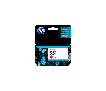 CARTUCHO HP 951 - PRINT CARTRIDGE - 1 X PIGMENTED MAGENTA HP BUSINESS INKJET AND OFFICEJET PRO PRINTERS8100 - N811AHP MULTIFUNCTION AND ALL-IN-ONE PRODUCTS8600 - A911A, 8600 PLUS - N911G, 8600 PREMIUM