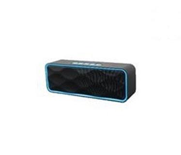 BOCINA MYO-B30, ALTAVOZ MYO BLUETOOH, INALAMBRICO, MODO FM, TARJETA USB / MICRO SD, NEGRO/AZUL