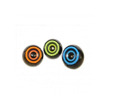BOCINA USB MYO MINI-SPEAKER 2.0, 3.5MM CONEXION DE AUDIO, CONTROL DE VOLUMEN, COLOR NARANJA.