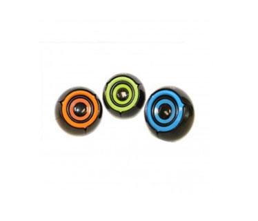BOCINA USB MYO MINI-SPEAKER 2.0, 3.5MM CONEXION DE AUDIO, CONTROL DE VOLUMEN, COLOR VERDE.