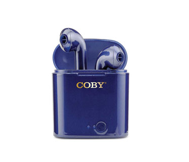 AUDIFONO COBY BLUETOOTH, AZUL