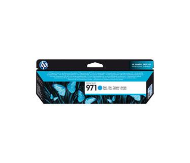 CARTUCHO HP 971 CYAN ORIGINAL INK CARTRIDGE FOR PRINTER OFFICEJET PRO X476DW, X576DW, X451DW