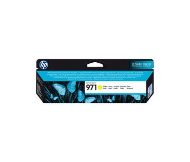 CARTUCHO HP 971 YELLOW ORIGINAL INK CARTRIDGE FOR PRINTER OFFICEJET PRO X476DW, X576DW, X451DW