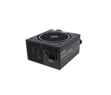 Power supply evga 850 bq, 80+ bronze 850w, semi modular, 100 - 240 v