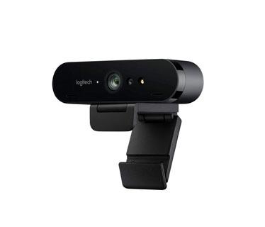 CAMARA WEB LOGITECH BRIO - ULTRA HD HASTA 4K, PARA VIDEO CONFERENCIAS, STREAMING Y GRABACION
