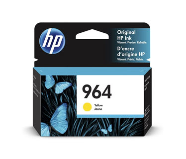 CARTUCHO HP 964 (3JA52A) - PRINT CARTRIDGE - 1 X YELLOW - 700 PAGES, HP OFICEJET PRO 9020