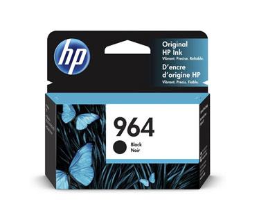 CARTUCHO HP 964 (3JA53A) - PRINT CARTRIDGE - 1 X BLACK - 1,000 PAGES, HP OFICEJET PRO 9020