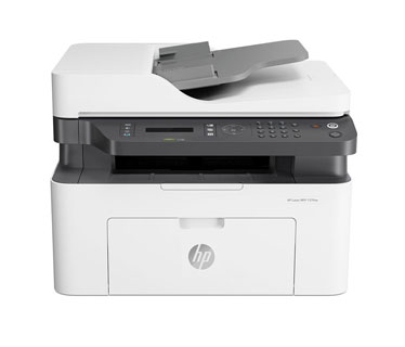 IMPRESORA HP LASERJET PRO MFP M137FNW MULTIFUNCTION PRINTER - B/W - LASER - (FAX / COPIER / PRINTER) - LEGAL (8.5 IN X 14 IN) (ORIGINAL) - LEGAL (216 X 356 MM), A4 (210 X 297 MM) (MEDIA) - UP TO 20 PPM (COPYING) - UP TO 20 PPM (PRINTING) - 150 SHEETS - 33.6 KBPS - USB 2.0, LAN, (G3Q60A), (REEMPLAZA LA M130FW), (TONER W1105A HP 105A)